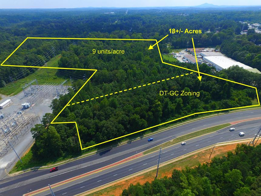 Highway 92 land, woodstock land, downtown woodstock land, cherokee county land
